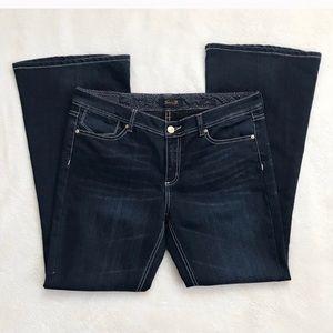Seven7 Dark Flare Jeans